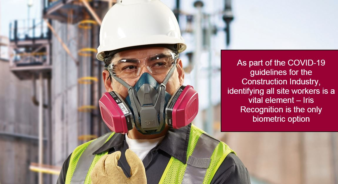 Aditech Contactless Biometric in Construction