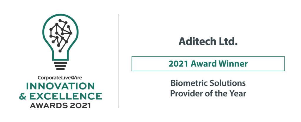 Aditech Iris Recognition Detection Award